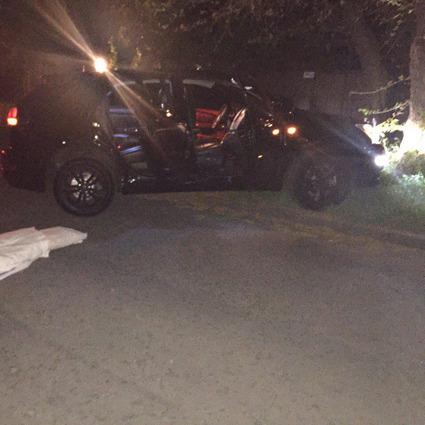 В Одесі двоє чоловіків розстріляли автівку з правозахисником