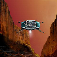 Український марсоліт - у трійці лідерів конкурсу NASA