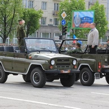 Військові паради на Донбасі - порушення Мінських угод, - ОБСЄ