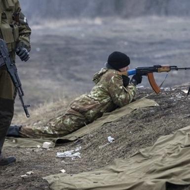 Бойовики активно обстрілюють позиції сил АТО на Маріупольському напрямку