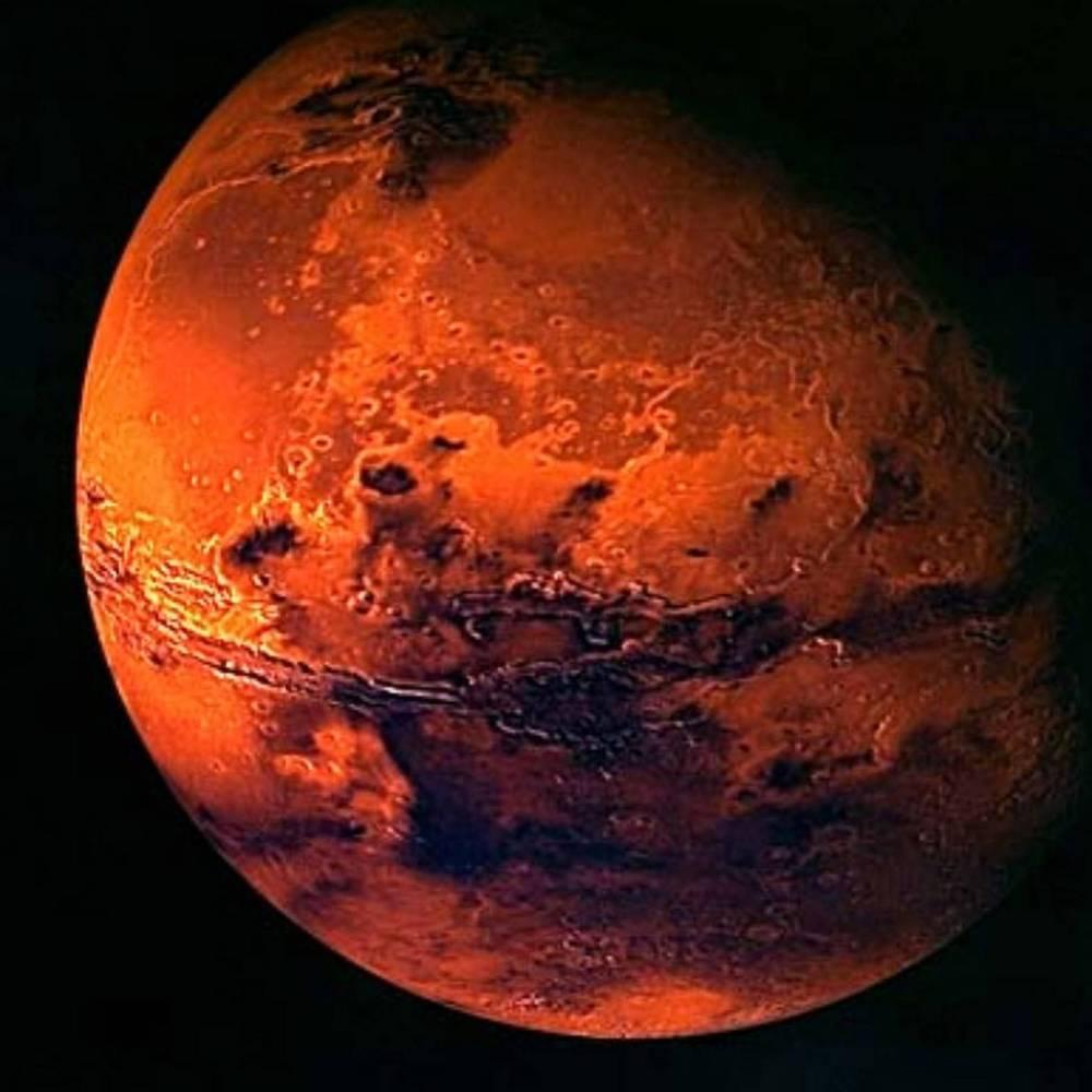 На Марсі були величезні цунамі, - вчені