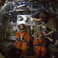 Как в NASA проводят краш-тест космического корабля Orion (фото)