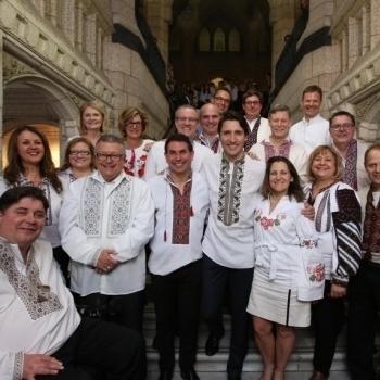 Канадський прем'єр влаштував День вишиванки