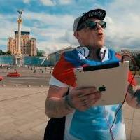 Любитель гострих відчуттів заспівав гімн Росії на Майдані