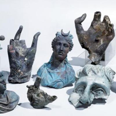 Дайвери випадково знайшли рідкісні античні статуї (фото)