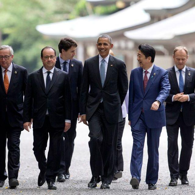 Сьогодні в Японії відкривається саміт країн G-7