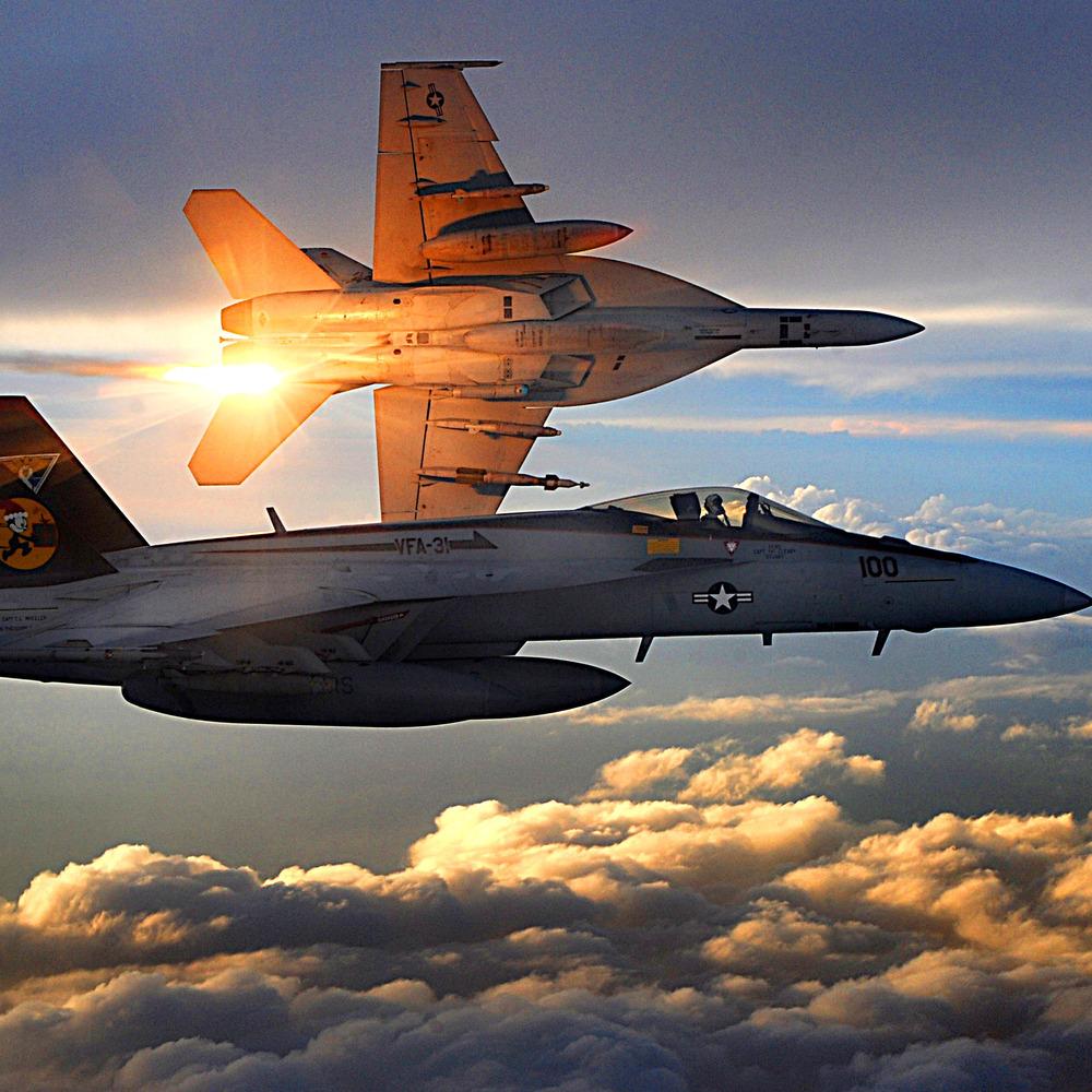 Над Північною Кароліною зіткнулися американські літаки