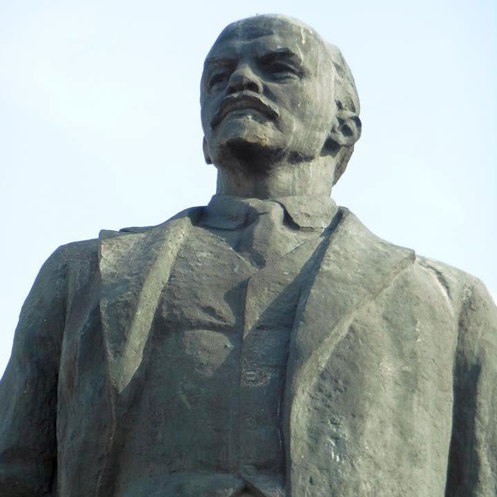 В Одесі прибрали Леніна