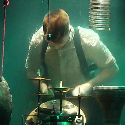 В Данії виступить перший в світі музичний гурт, який грає під водою