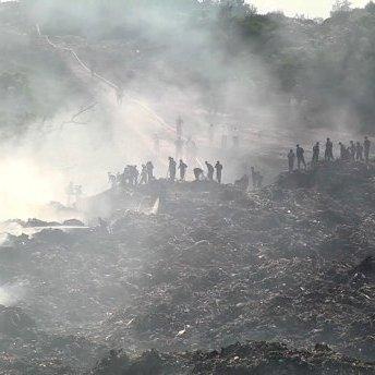 На сміттєзвалищі під Львовом може статися ще один зсув