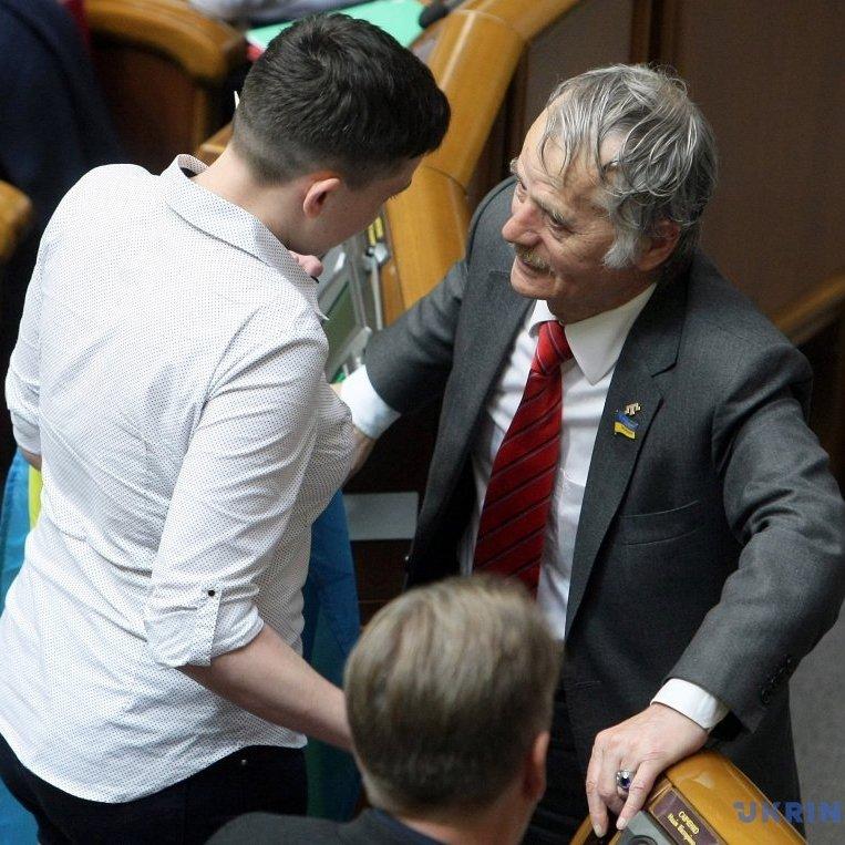 Джемілєв прокоментував перші дії Савченко в Раді