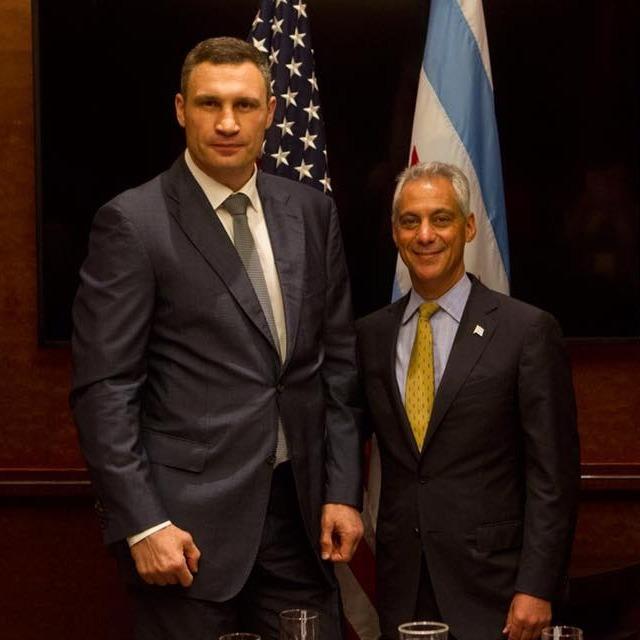 На Київ чекає інноваційна реорганізація, - мер столиці зустрівся з мером Чикаго (фото)