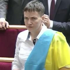 Савченко висловилася проти пом'якшення санкцій для Росії