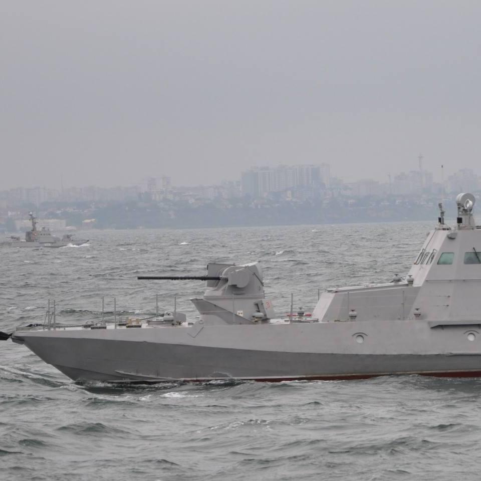 Українські ВМС випробували нові катери (фото)