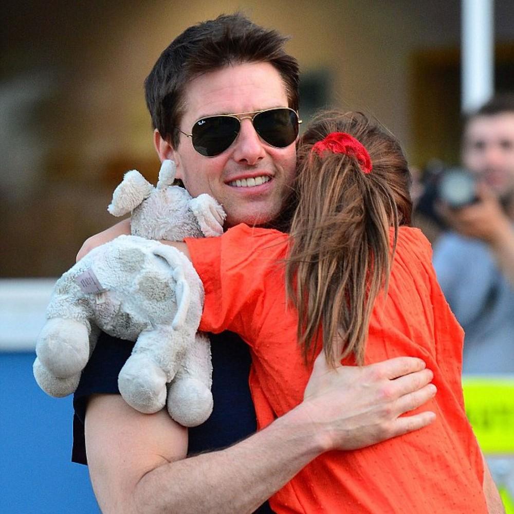 Том Круз не бачився з донькою 1000 днів