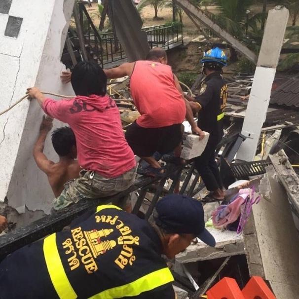 У Таїланді обвалився готель, є загиблі