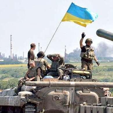 Бої під Донецьком продовжуються. Терористи відступають