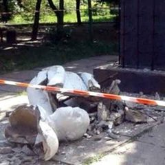 «Ленін впав, бо намок», - у «ЛНР» пояснили падіння Вождя