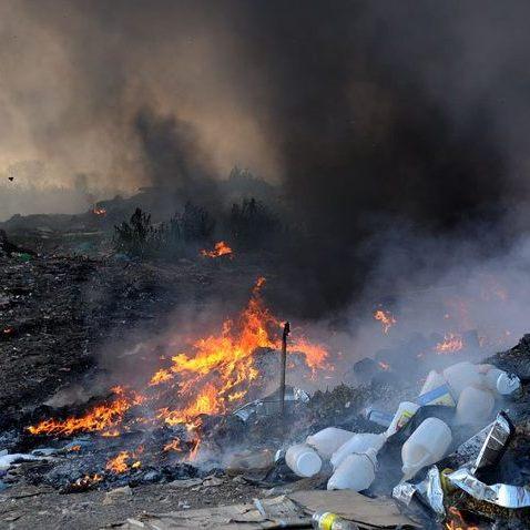 Ще одне сміттєзвалище горіло на Львівщині