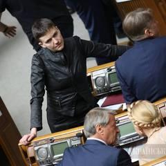 Савченко готова говорити із ватажками терористів як з нардепами та закликала Київ до прямих переговорів