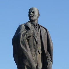 У Москві відтяли голову Леніну