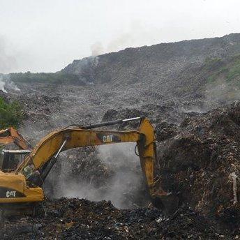 На Грибовицькому сміттєзвалищі припинили пошукові роботи