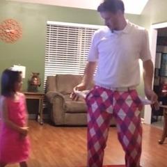 Танцювальний дует тата і дочки став хітом соцмереж (відео)