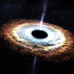 Чорні діри народжують зірки, - астрономи
