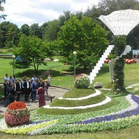Зеленбудівці похвалилися світлинами з виставки квітів «Місто майбутнього» (фото)