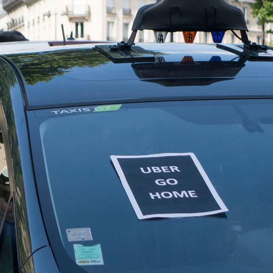 У Франції оштрафували сервіс Uber майже на мільйон доларів
