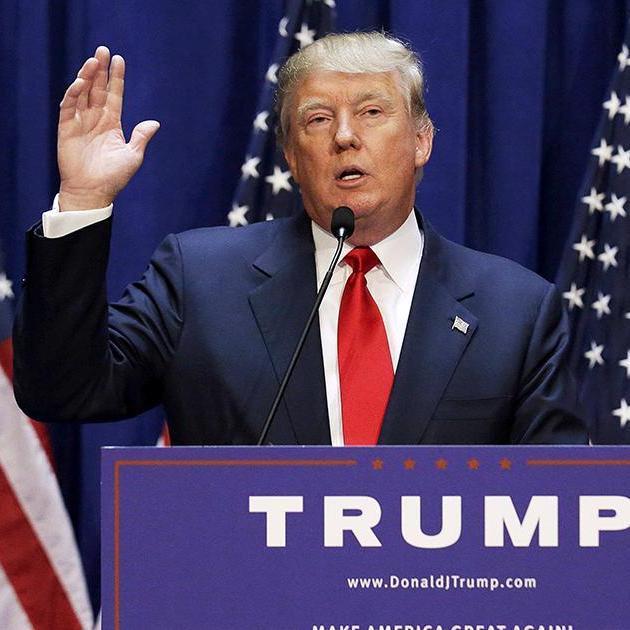 Трамп відреагував на підтримку одного з кандидатів президентом США