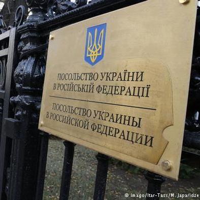 Розлючені молодики напали на посольство України в Москві (фото, відео)