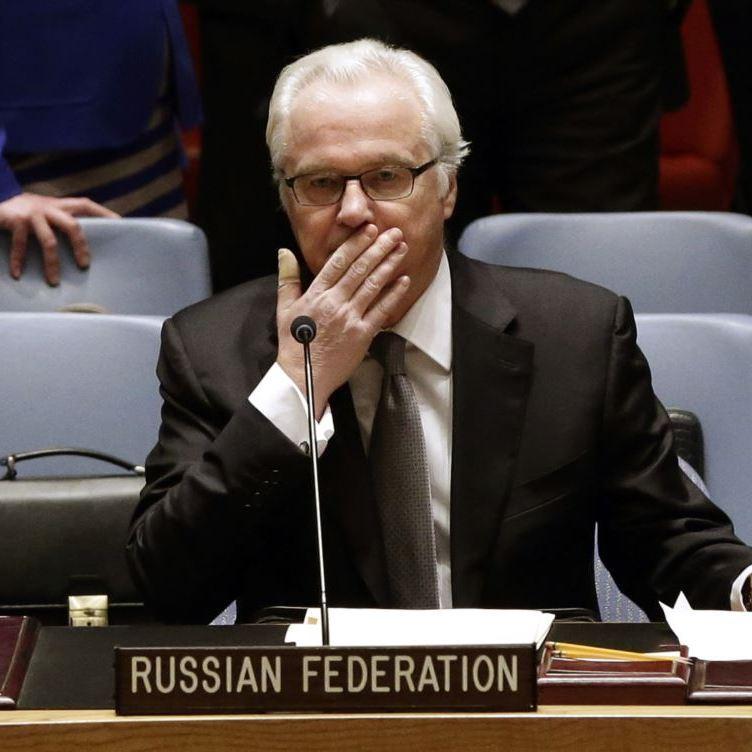 Чуркін вже традиційно збрехав у ООН