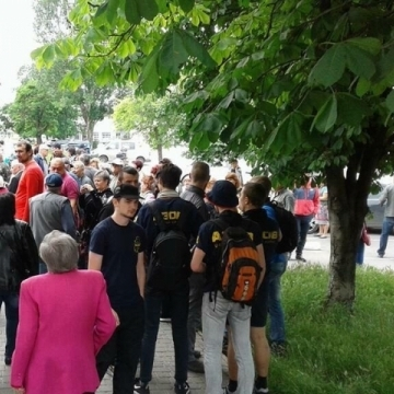 В Одесі сьогодні пройшов невдалий мітинг пенсіонерів
