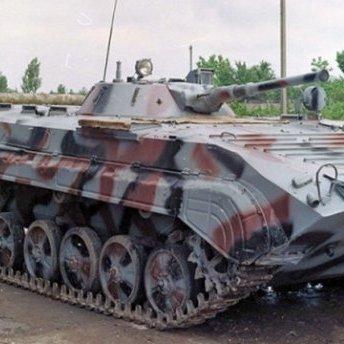 Українських бійців нагородили за підбиту БМП