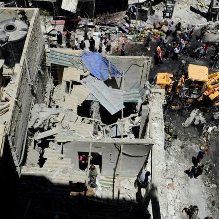 У Дамаску стався подвійний вибух