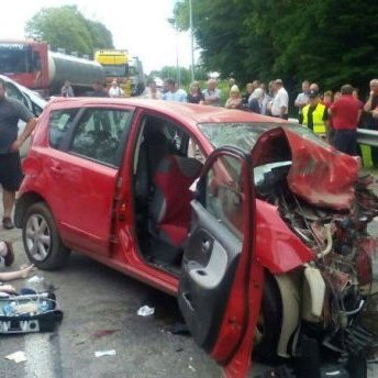 Страшна аварія на Львівщині забрала життя вагітної жінки та 4-річної дитини