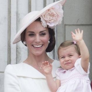 Принцеса Шарлотта вперше з'явилася на публіці (фото)