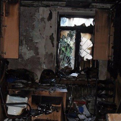 У НАБУ розповіли, скільки втратили від пожежі у Солом'янському суді