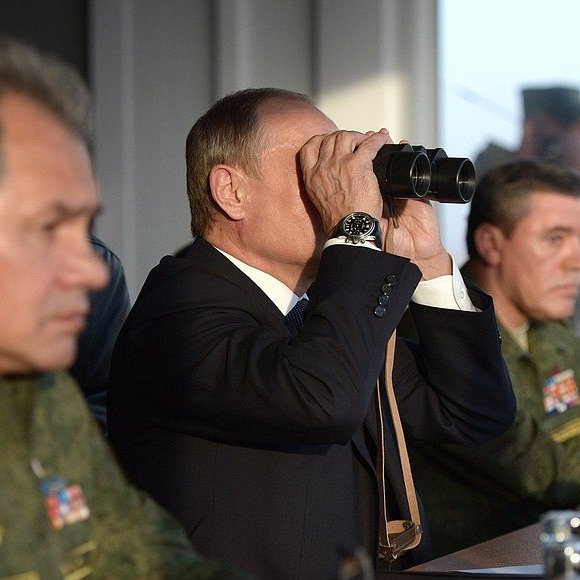 Путін оголосив раптову перевірку в збройних силах РФ
