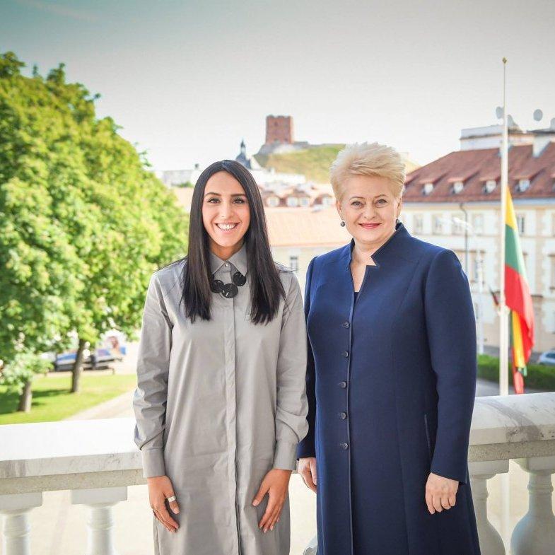 Джамала зустрілася з президентом Литви