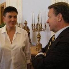 Надія Савченко здивувала голову ОБСЄ