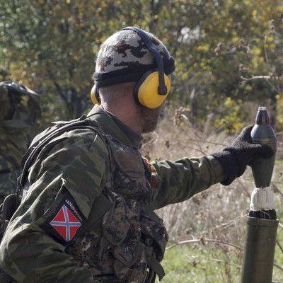 Сепаратисти обстріляли укріплення сил АТО біля Луганського з мінометів та БМП