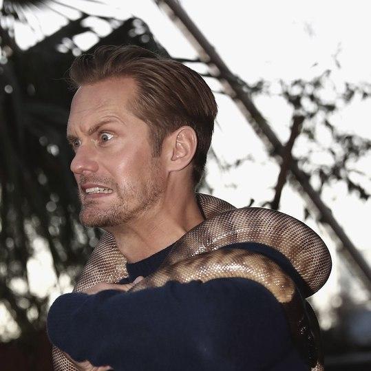 Тарзан у зоопарку: весела фотосесія героя нового фільму (фото)