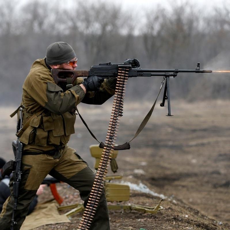 Красногорівку обстріляли з танка. Бойовики відкривали вогонь по силам АТО 41 раз за добу