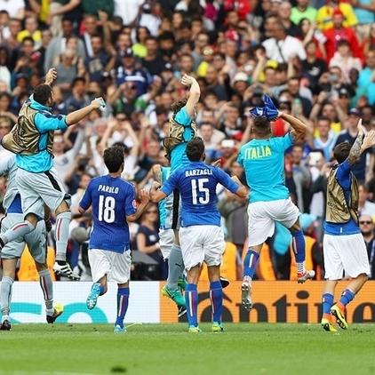 Збірна Італії перемогла шведів та вийшла з групи в плей-офф Євро 2016