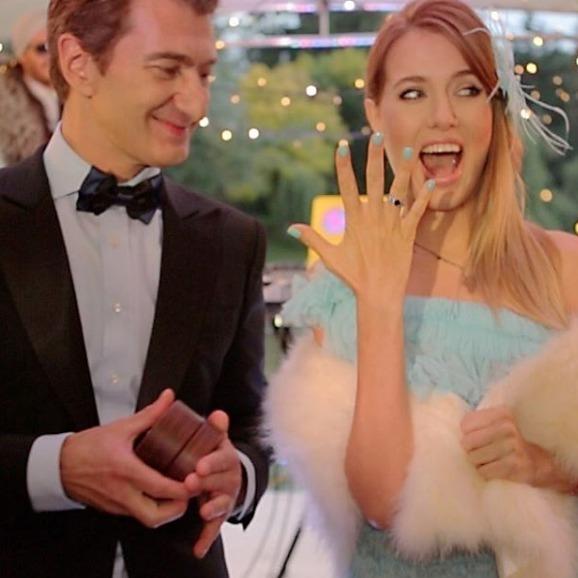 Ольга Горбачова і Юрій Нікітін визначилися з датою весілля