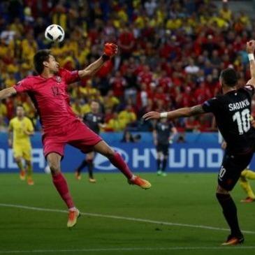 Євро-2016: Албанія перемогла Румунію
