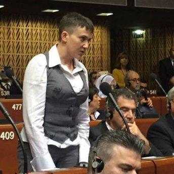 Надія Савченко із потужною промовою виступила на сесії ПАРЄ