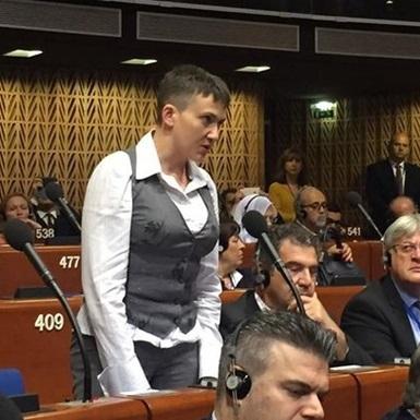 Савченко у ПАРЄ жорстко поставила на місце російського журналіста (ВІДЕО)